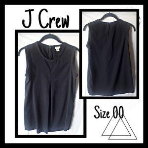 ♾J CREW Blue Black blouse